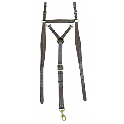Breastplate Stockmans Oblong Braided