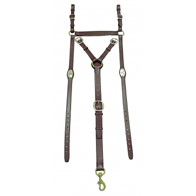 Breastplate Stockmans ASH- Oval