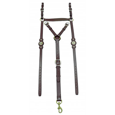 Breastplate Stockmans ASH- Round