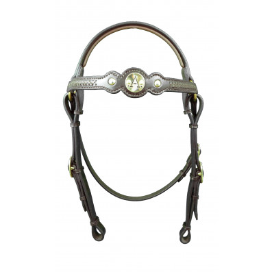 Bridle Barcoo ASH- Round Braided