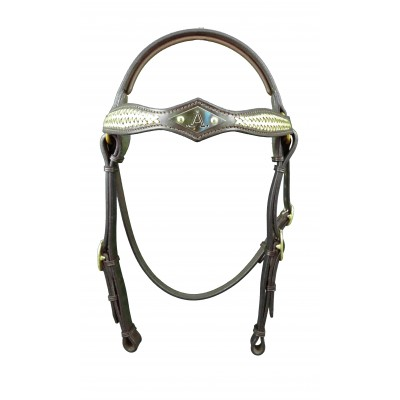 Bridle Barcoo ASH- Diamond Braided