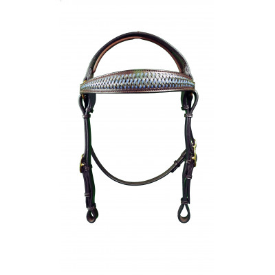 Bridle Barcoo Oblong Braided