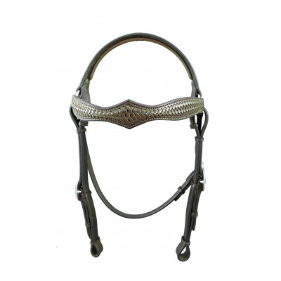 Bridle Barcoo Diamond Braided