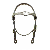 Bridle Barcoo ASH- Oval Braided