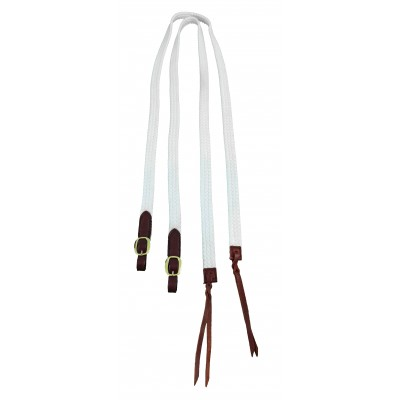 Reins Cotton braided Split